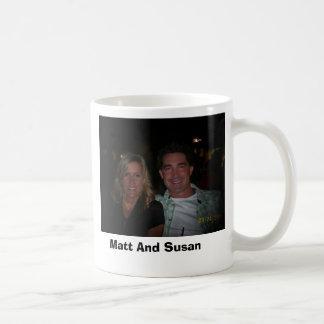 susanandunclematt, Matt y Susan Tazas De Café