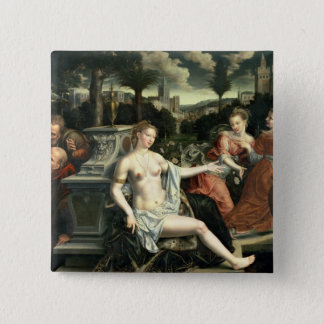 Susanna and the Elders, 1567 Pinback Button