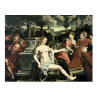 Susanna and the Elders, 1567 Postcard