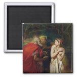 Susanna and the Elders, 1856 Fridge Magnet