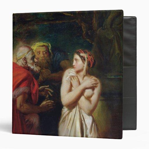 Susanna and the Elders, 1856 Vinyl Binders