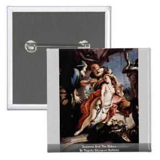Susanna And The Elders By Tiepolo Giovanni Battist Button