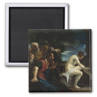 Susanna and the Elders Magnet