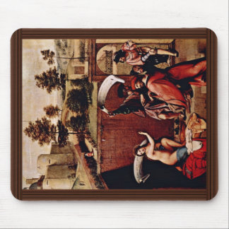 Susanna And The Old By Lotto Lorenzo (Best Quality Mousepad