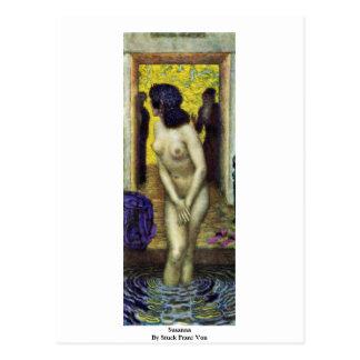 Susanna By Stuck Franz Von Postcard