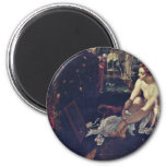 Susanna,  By Tintoretto Jacopo (Best Quality) Refrigerator Magnets
