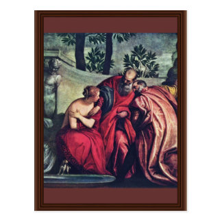 Susanna By Veronese Paolo (Best Quality) Postcard