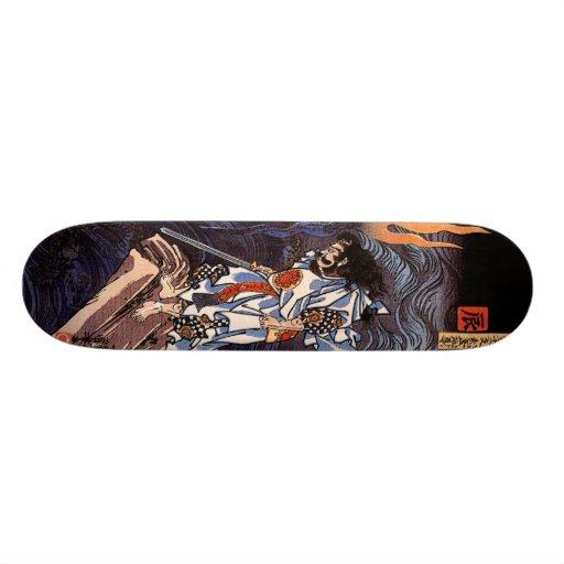 Susanoo Slaying the Yamata No Orochi Skate Board Deck