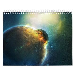 Susan's Digital Spacescapes 2012 Calendar