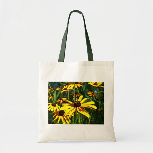Susans Negro-Observado amarillo brillante múltiple Bolsa