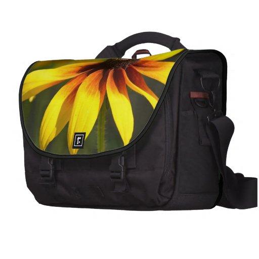 Susans observado negro brillante bolsas para ordenador