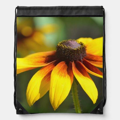 Susans observado negro brillante mochila