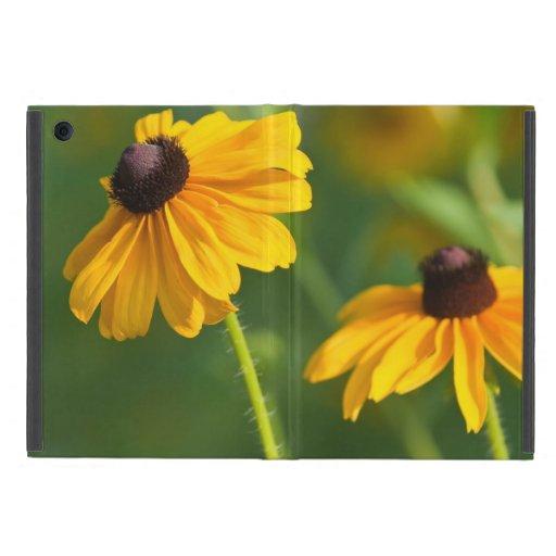 Susans observado negro floreciente iPad mini carcasa