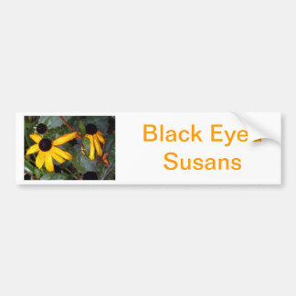 Susans observado negro - pasado de verano pegatina para auto