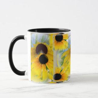 Susans observado negro taza