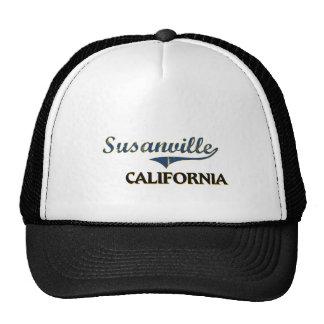 Susanville California City Classic Trucker Hat