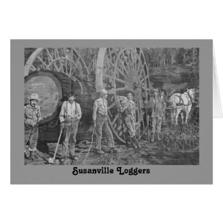 Susanville Loggers Card