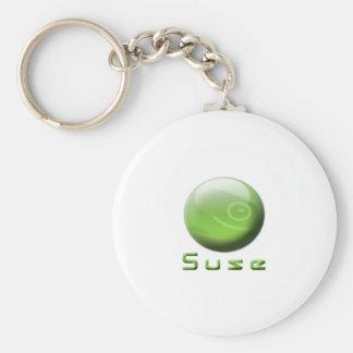 Suse Geek Option Keychain