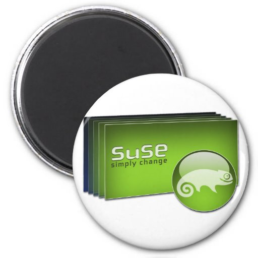 Suse symple change 2 inch round magnet