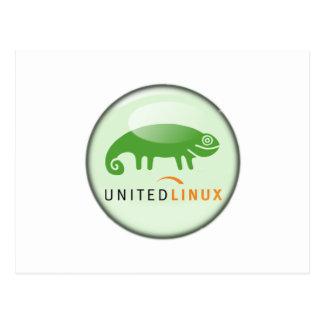 Suse unió Linux Postales