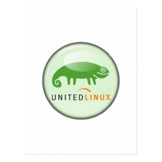 Suse unió Linux Tarjeta Postal