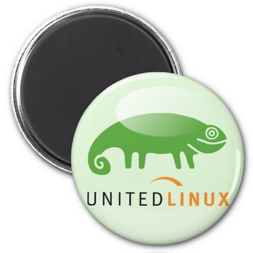Suse United Linux 2 Inch Round Magnet