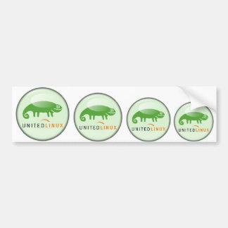 Suse United Linux Bumper Sticker