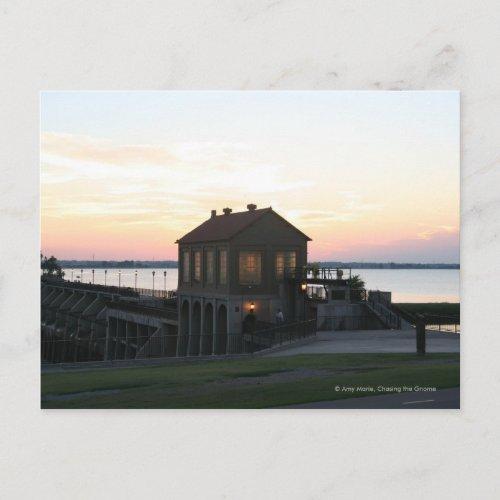 Suset Dam postcard