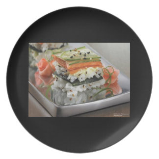 Sush Squares Fine Art On Dinnerware Plates Plate