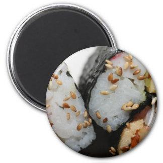 Sushi 2 Inch Round Magnet