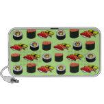Sushi adaptable iPod altavoces