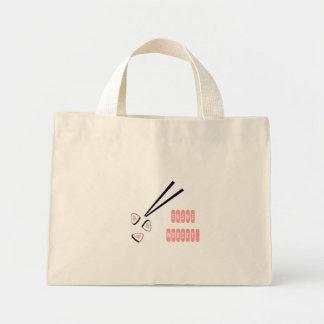 Sushi Addict Canvas Bags