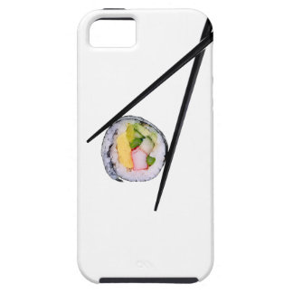 Sushi and Black chopsticks iPhone SE/5/5s Case