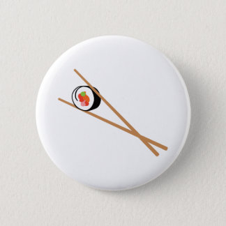 Sushi And Chopsticks Button