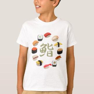 Sushi and Kanji 回転寿司 T-Shirt