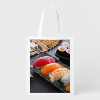 Sushi and rolls grocery bag