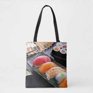 Sushi and rolls tote bag