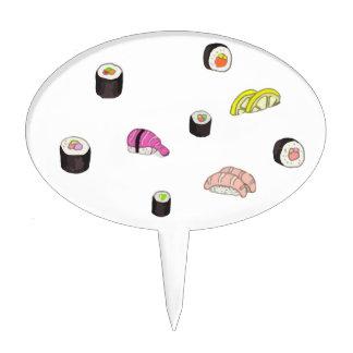 Sushi and Sashimi Cake Topper