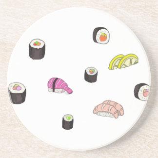 Sushi and Sashimi Drink Coaster