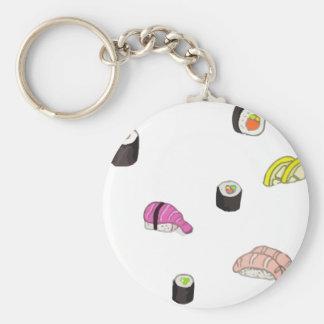 Sushi and Sashimi Keychain
