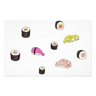 Sushi and Sashimi Stationery
