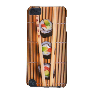Sushi and wooden chopsticks iPod touch 5G case