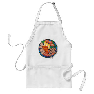 Sushi Apron 2 - Add Your Own Text