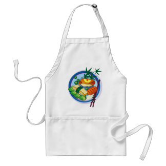 Sushi Apron 6 - Customizable - add your own text