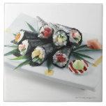 Sushi Azulejo Cuadrado Grande