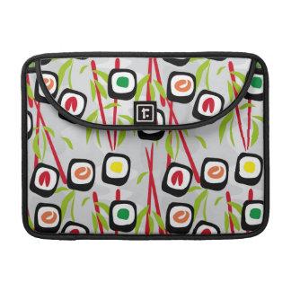 Sushi background sleeves for MacBooks