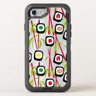 Sushi background OtterBox defender iPhone 8/7 case