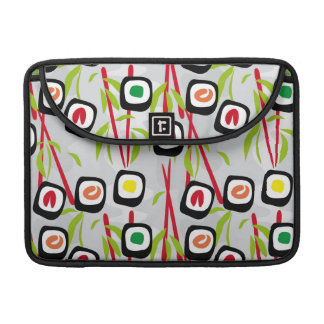 Sushi background sleeves for MacBook pro