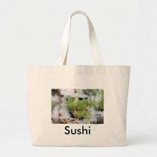 sushi jumbo tote bag