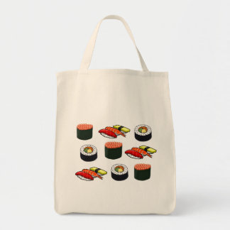 Sushi Grocery Tote Bag